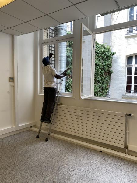 Nettoyage des vitres Paris 17